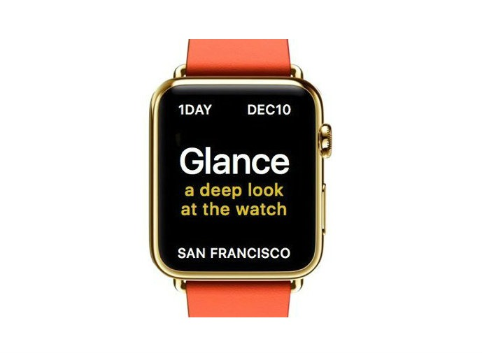 A Glance at the Apple Watch: Nanotasking to smartwatch gaming
