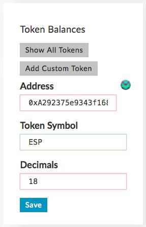 ICO token programming