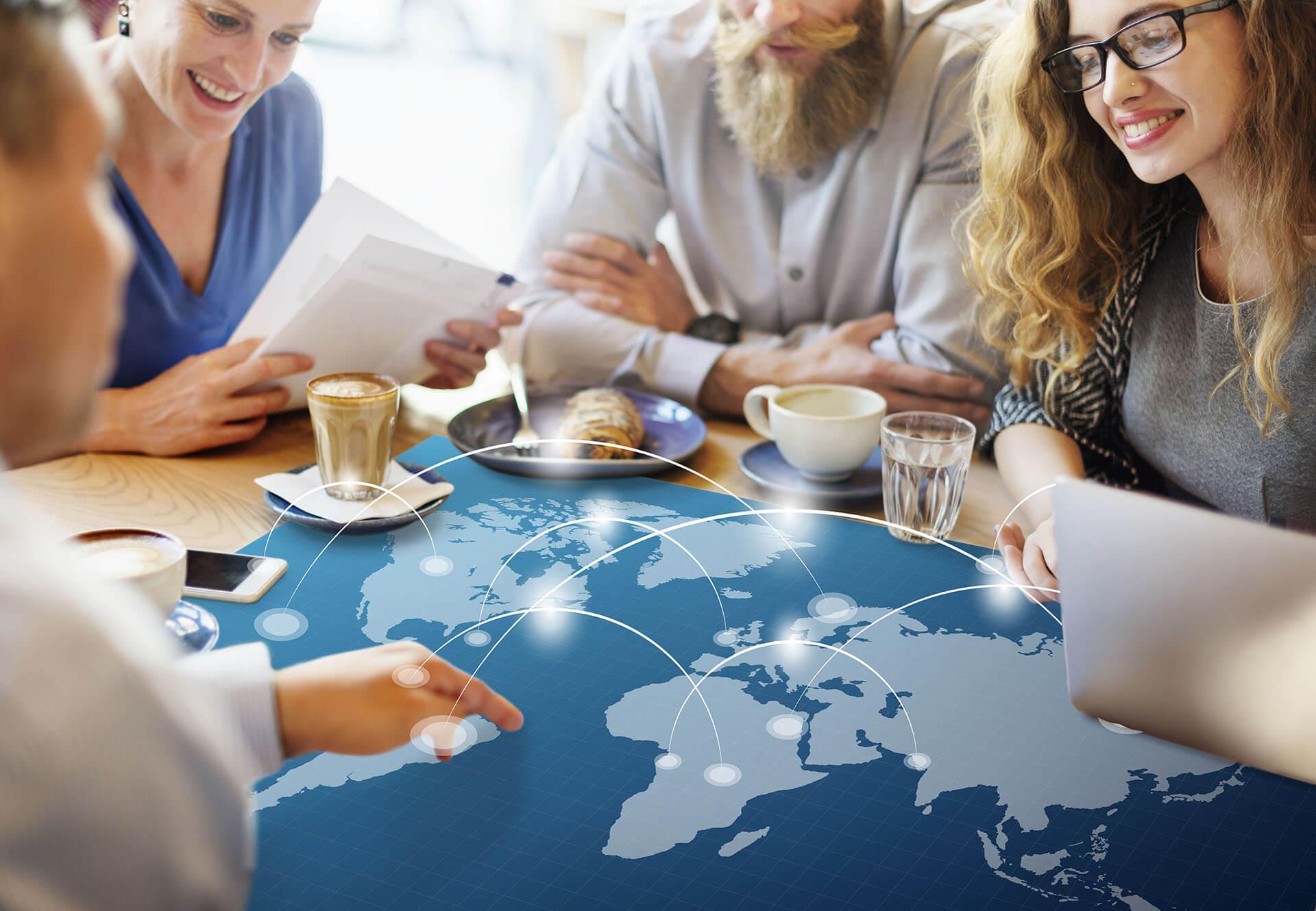 A Global Context - fintech app design